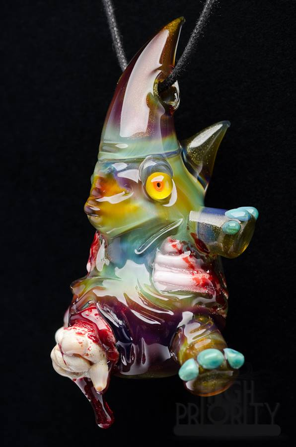 B. Martin x Ghost Rhino zombie pendy
