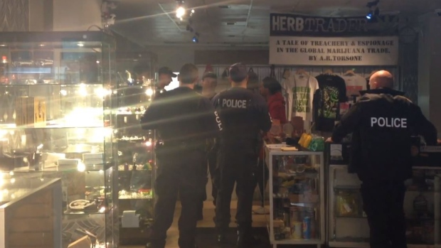 police raid halifax