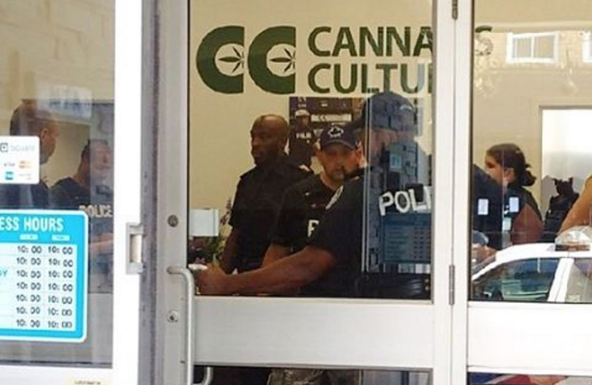 Cannabis Culture Raided by Police