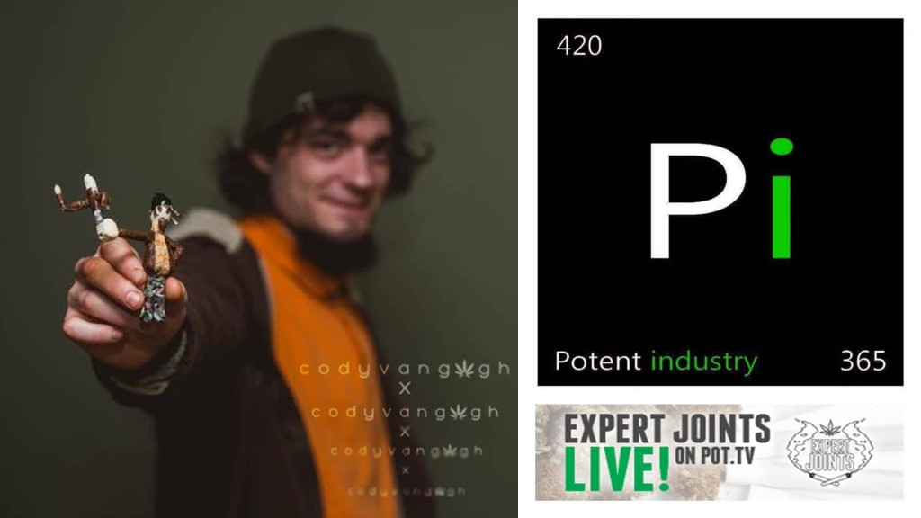 Expert Joints LIVE! - 3, 2, 1 Gogh w/ Creative Rolling Artist Cody Van Gogh and Potent Industry