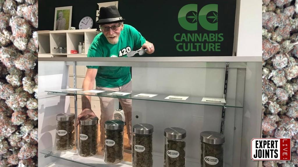 "Expert Joints LIVE! - ""Goodness Greg-cious"" Greg Marijuana Man Williams Cannabis Culture 3715 West Broadway"