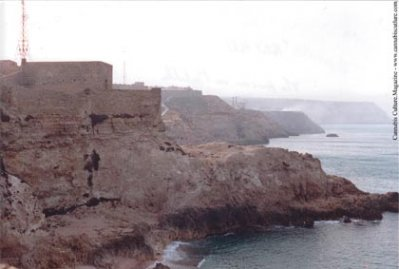 A prison on the coast of Africa?Gerry Griffin s hellhole home for three years.