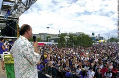 Will Foster speaking at the Seattle Hempfest: `I am going to be an activist.`