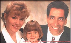 Michelle and Steve Kubby with a daughter.
