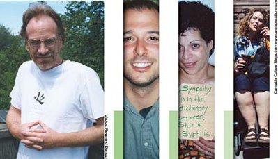 (l-r) Alan Young, Warren Hitzig, Catherine Devries, Alison Myrden