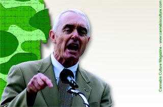 Former US drug czar Barry McCaffrey