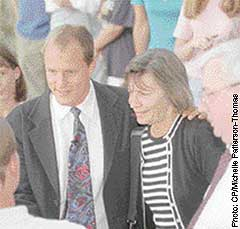 Woody Harrelson and his mom