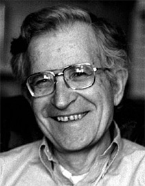 Linguist and historian Noam Chomsky