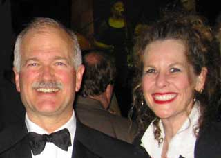 Jack Layton and Alison Myrden