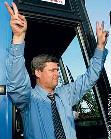 Conservative Leader Stephen Harper