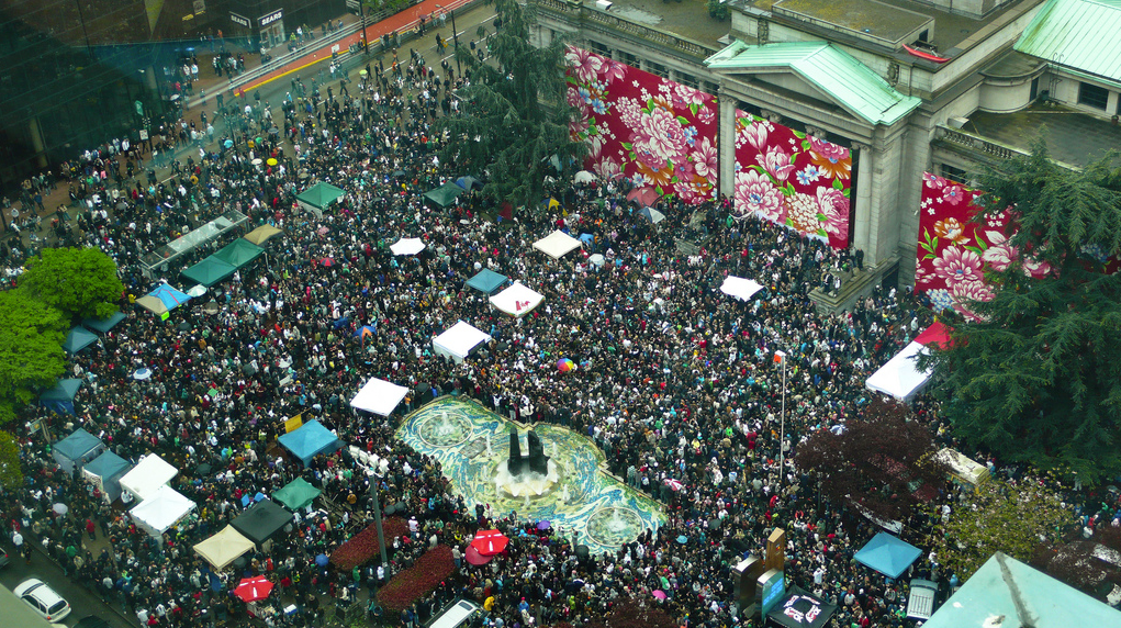 Vancouver 420 in 2010