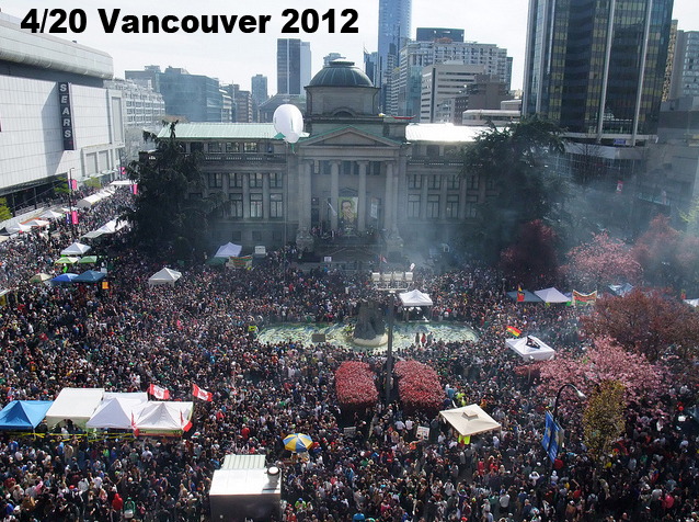 Vancouver 420 in 2012