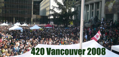Vancouver 420 in 2008