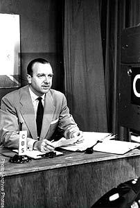 Cronkite`s 1962 debut onThe CBS Evening News.