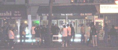 Shadowy police raid