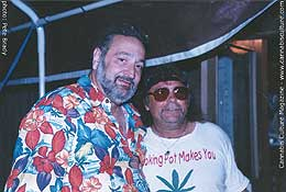 Jack Herer (left) with Bill Conde