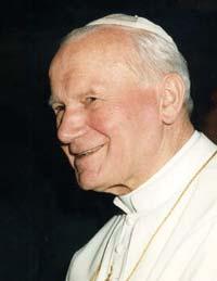 The late Pope John Paul II: wanted tobacco banned
