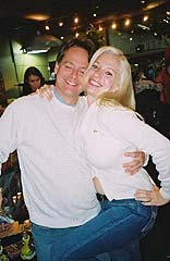 Marc Emery and Michelle Rainey