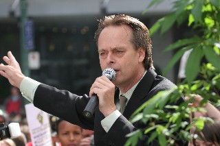 Marc Emery speaks in Vancouver on September 10th