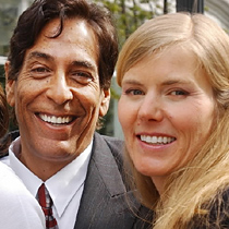 Steve and Michele Kubby in happier, healthier times