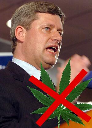 Harper Says NO to Any Progress