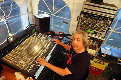 Tom Shapiro at work