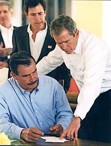 President Bush and Presidente Fox