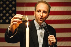 Craig X burns sacrament at Temple 420