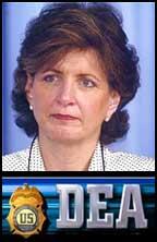 Evil Karen Tandy of the Evil DEA