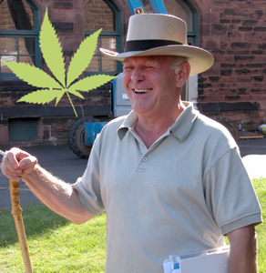 Rick Simpson outside court in 2007