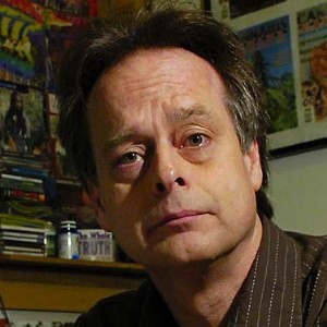 Marc Emery in his Vancouver Office, by Ward Perrin, Vancouver Sun