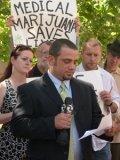 Michael Martin outside court
