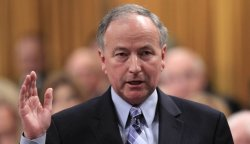 Justice Minister Rob Nicholson introduce Bill C-10, the government's package of tough-on-crime legislation (Safe Streets and Communities Act). (photo: Chris Wattie, Reuters)