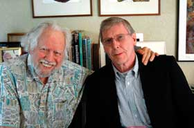 """Alexander (""""Sasha"""") Shulgin and James Ketchum (2006)"""