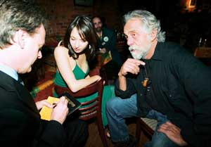 "Marc and Jodie chat with Tommy in Vancouver after the ""The Marijuanalogues"", in which he performed in 2005."