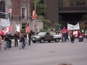 Toronto Hash Mob March: Toronto Hash Mob vs US Consulate