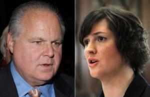 Rush Limbaugh vs Sarah Fluke