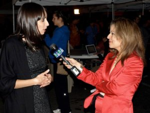 NBC reporter interviewing me