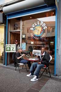 Bulldog storefront