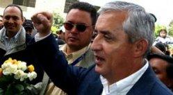 """President Otto Perez Molina and his """"mano duro"""""""