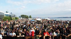 Thousands of pot-lovers come together for Seattle Hempfest 2009, the largest gathering of marijuana legalization advocates on the planet. (Photos by Carina Gonzalez and Jeremiah Vandermeer - click to enlarge)
