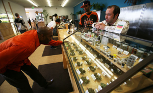 Harborside Health Center, a nonprofit medical marijuana dispensary in Oakland, Calif., is looked upon as a model of how others could operate. (Photo by Jim Wilson)