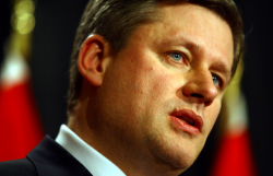 Canadian Prime Minister Stephen Harper is hoping to put increased numbers of non-violent marijuana users behind bars with new crime legislation. Newly-released prison spending estimates show a 43 per cent increase in penitentiary capital costs next year, but the Harper government has refused to divulge a total tab for its initiatives to imprison more offenders, citing cabinet confidences.