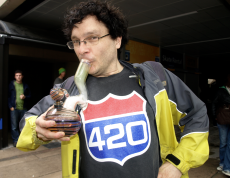 4/20 was a real trip. (Photos by Jeremiah Vandermeer - click to enlarge.)