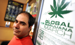 Neev Tapiero is the owner of the CALM compassion club in Toronto and still faces charges for marijuana trafficking. (Photo by Carlos Osorio/Toronto Star)