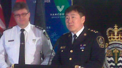 Vancouver Police Chief Jim Chu announced that British Columbia's Civil Forfeiture Program resulted in over $5 million in seizures in 2010. (Photo by Peter Grainger)