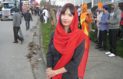 Jodie Emery at Vaisakhi in Vancouver South