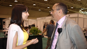 Solidarity: Princess of Pot Jodie Emery and Marco Renda talk at the TY Expo.