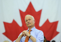 Former NDP Leader Jack Layton passed away in 2011 after leading his party to record votes in the federal election and opposition status in House of Commons.