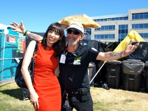 Vivian McPeak and Jodie: Seattle Hempfest 2011